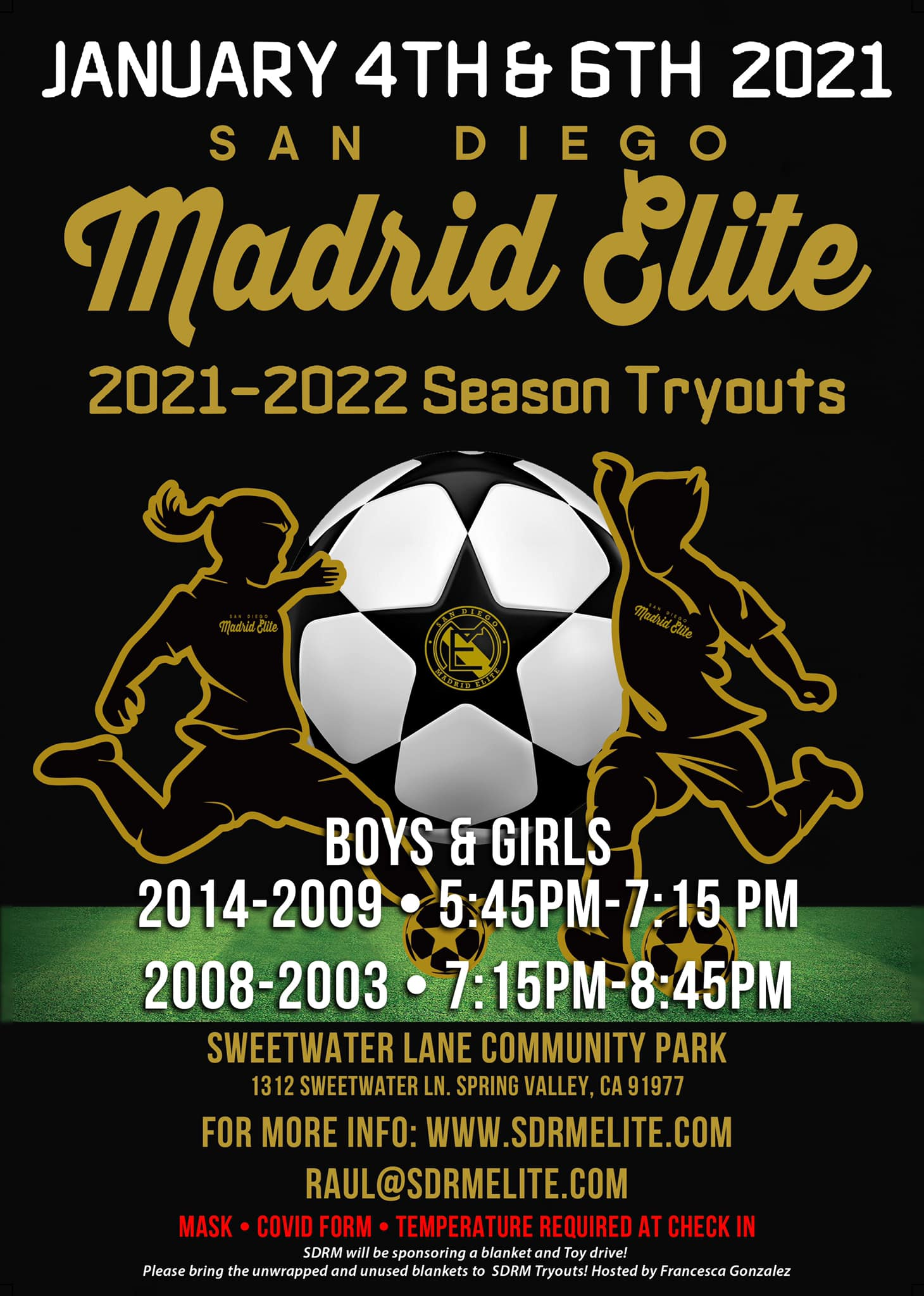 OPEN TRYOUTS